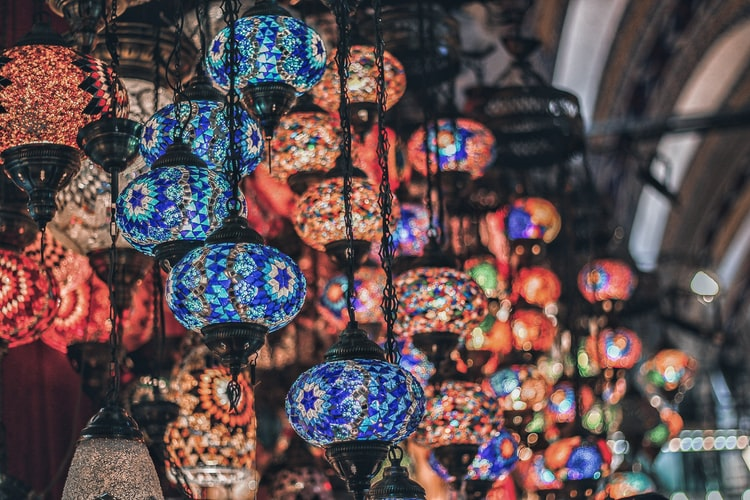 Luminárias turcas