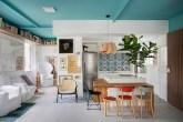 apartamento-cores-no-teto-pé-direito