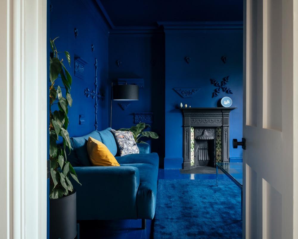 casa colorida em Londres