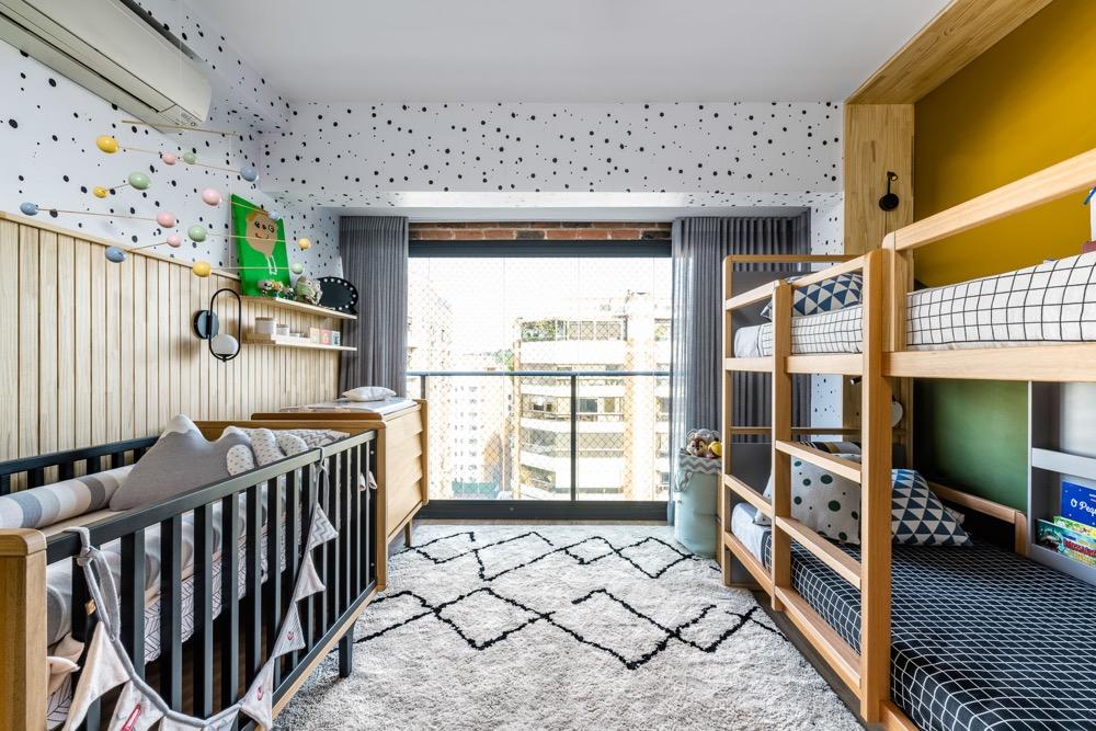 quarto infantil para três irmãos