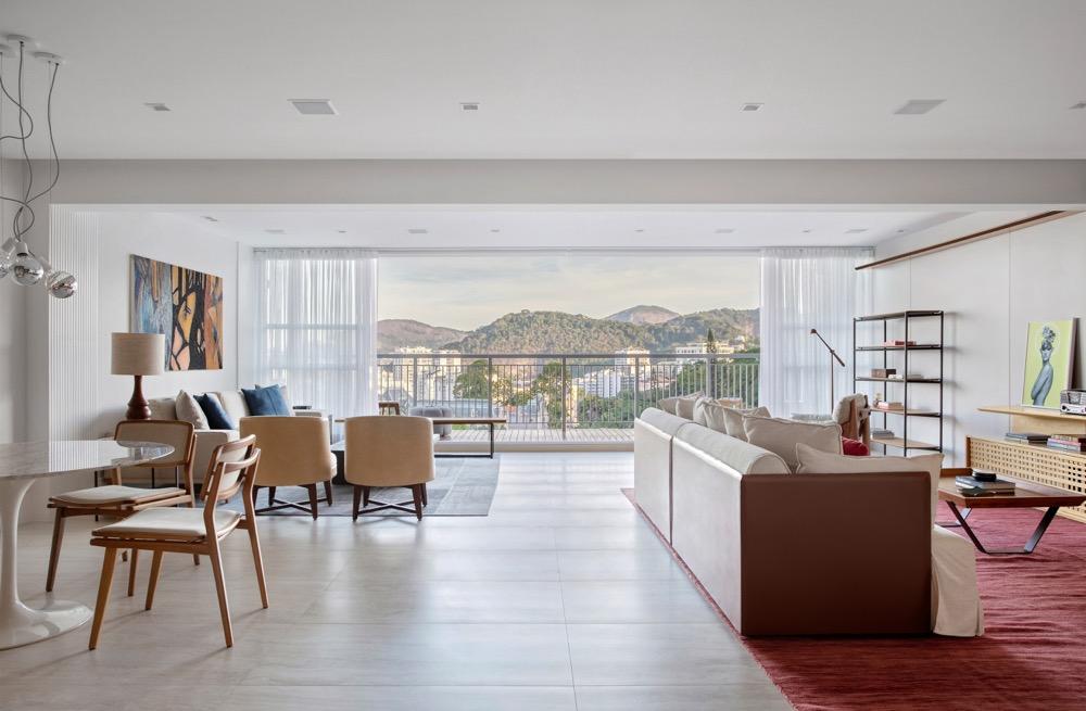 apartamento com sala integrada