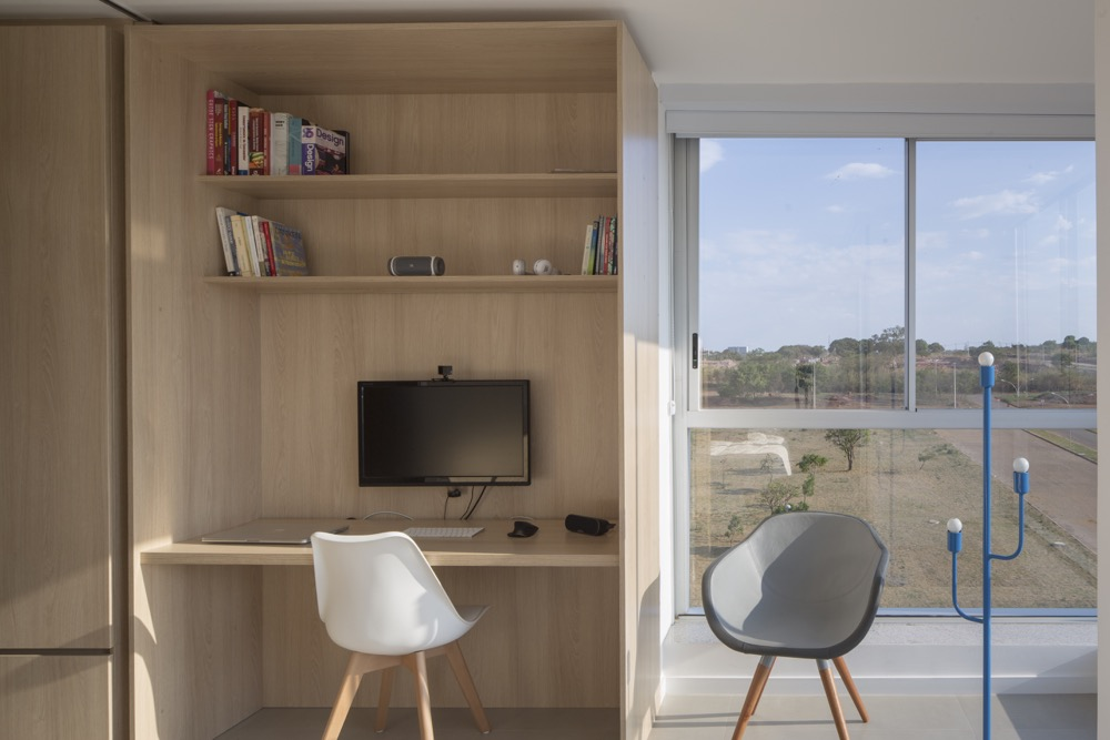 home office em apartamento pequeno