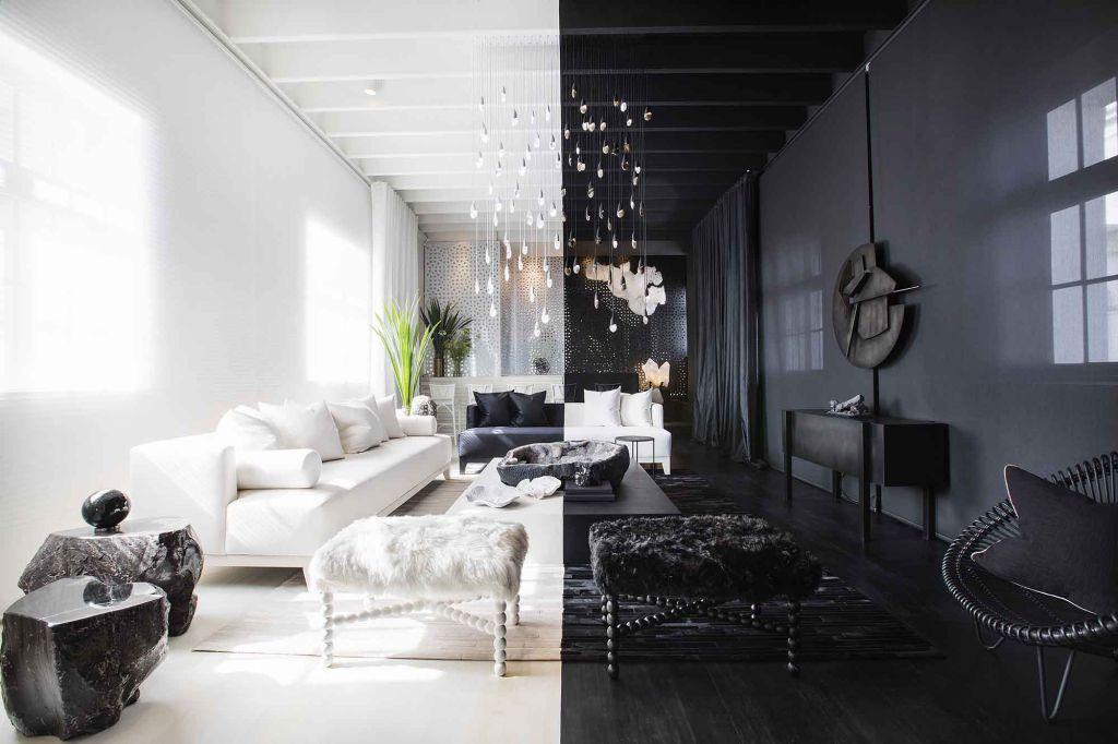 Decoração preto e branco: as cores que atravessam os espaços da CASACOR