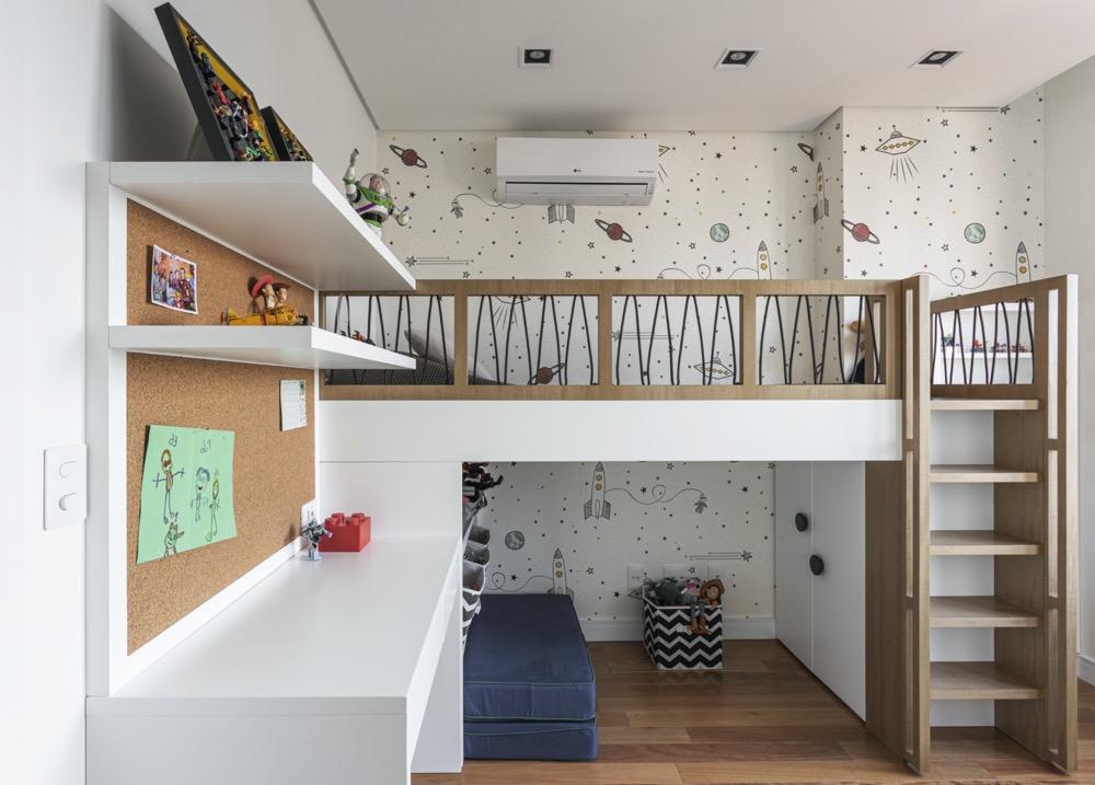 quarto infantil com beliche