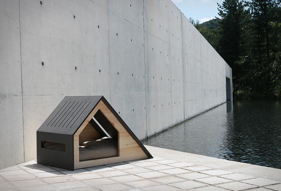 casinha de cachorro minimalista