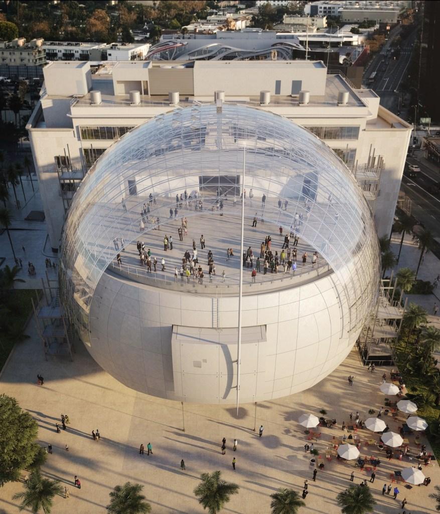 Renderização do Museu da Academia de Cinema