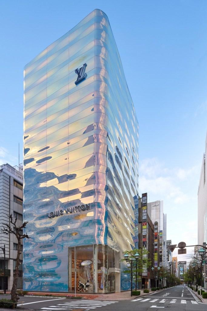 Loja da Louis Vuitton em Tóquio