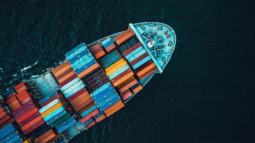 primeiro navio contêiner neutro em carbono