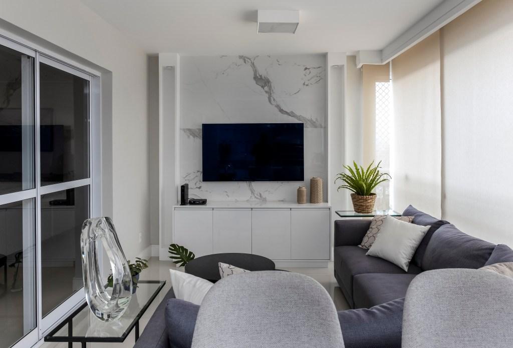 Varanda gourmet como sala de estar