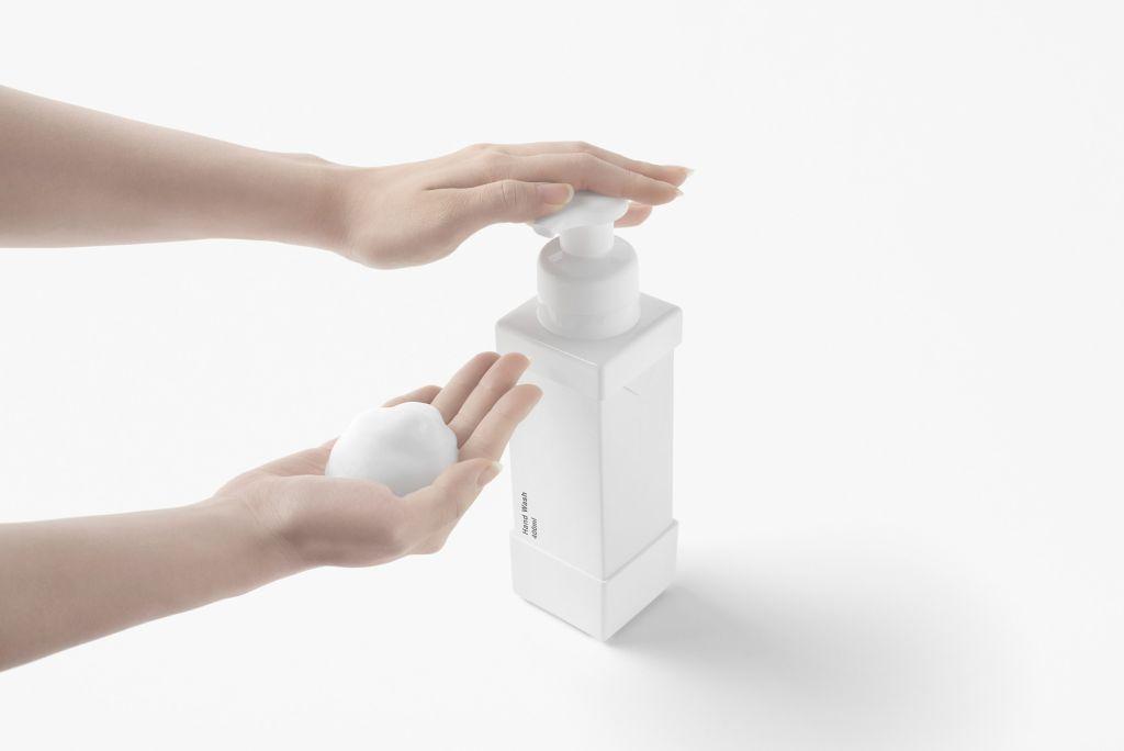 dispensadores de sabonete líquido caixa de leite