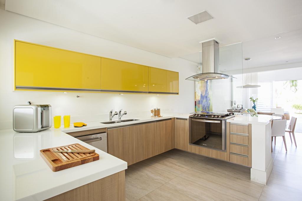 charmoso-modelo-de cozinha-simples