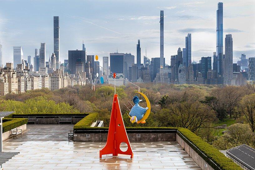 Tem um Garibaldo no terraço do Met em Nova York!