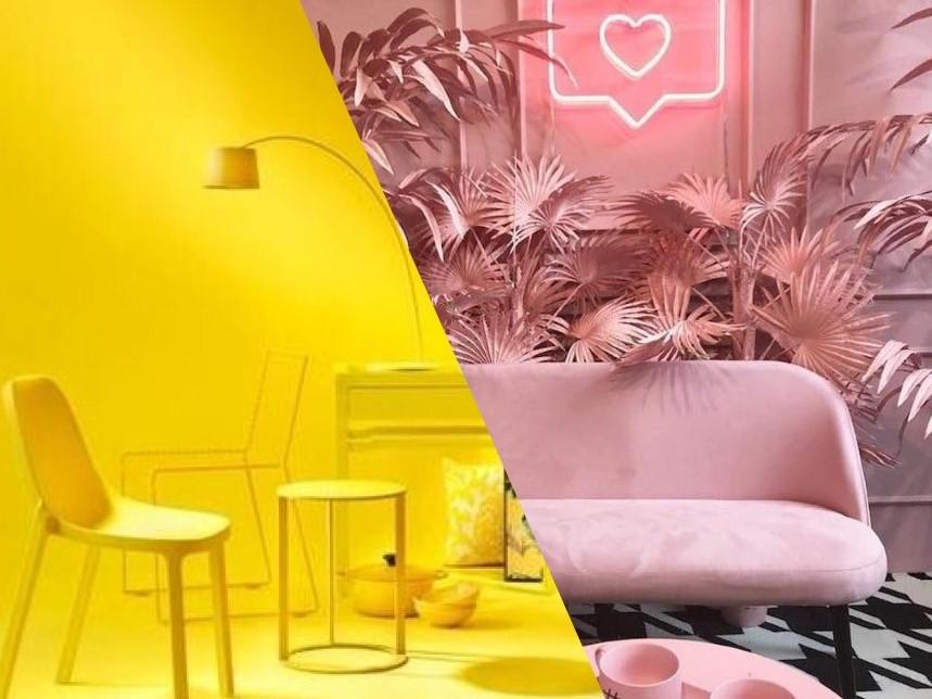 Millennial Pink x GenZ Yellow: qual cor te representa