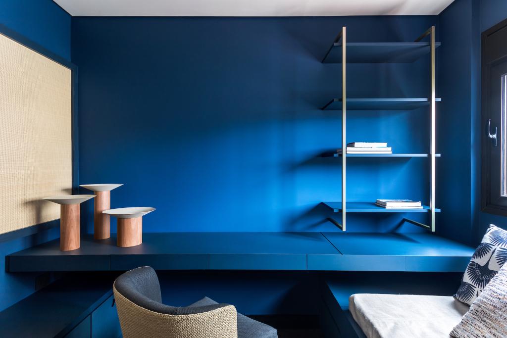 inspiração de móvel azul