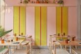 Restaurante-combina-candy-colors-com-objetos-de-design-dezeen 02