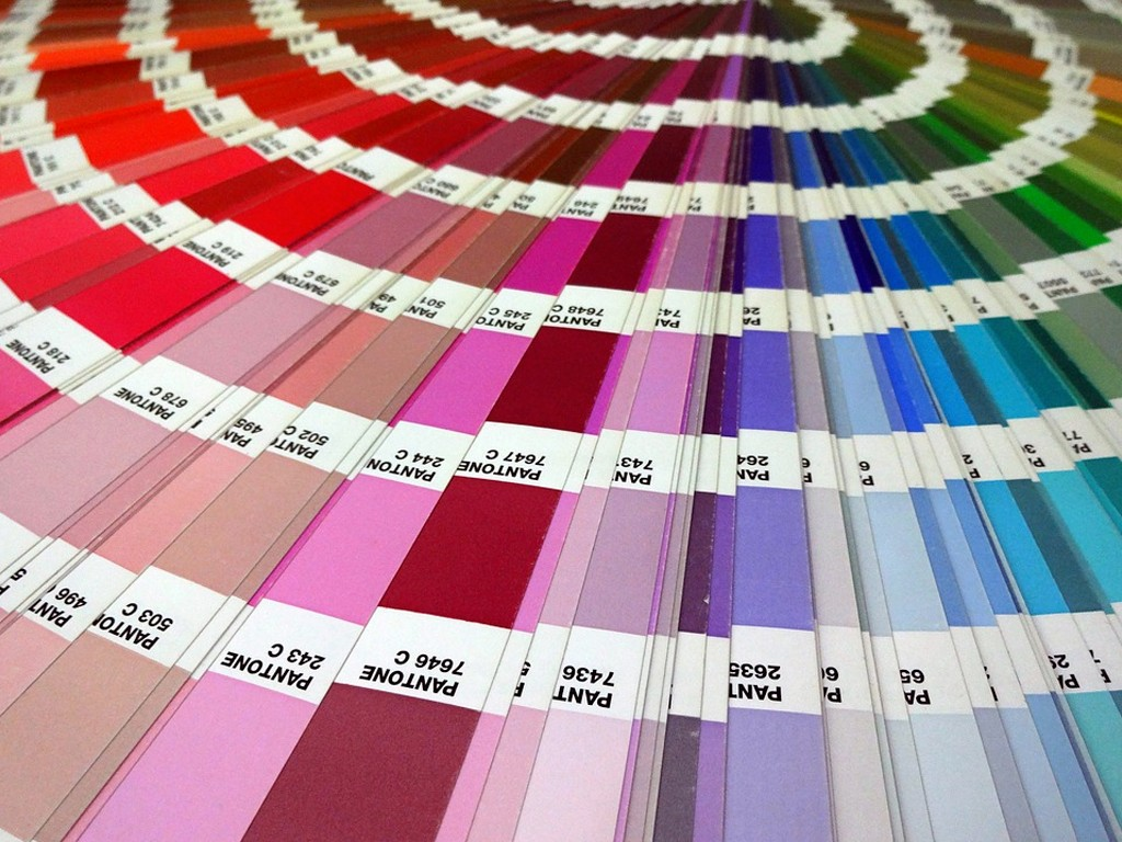 Cartela de cores Pantone