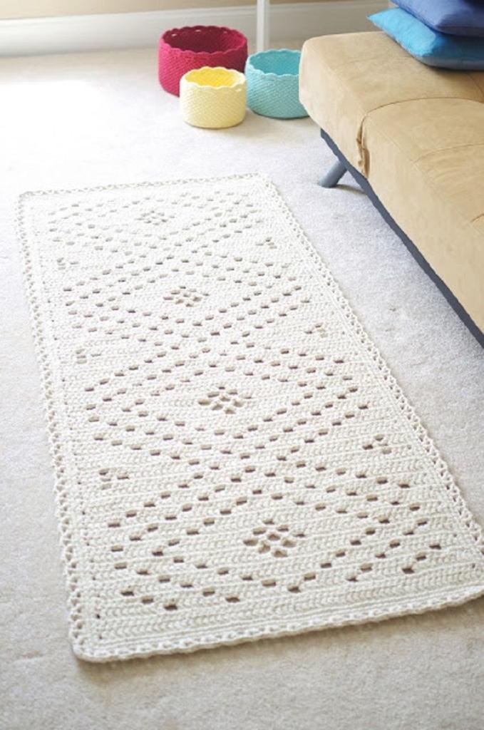 tapete de barbante dá um toque artesanal na decoração