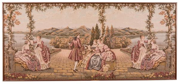 Usando tapeçarias na decoração