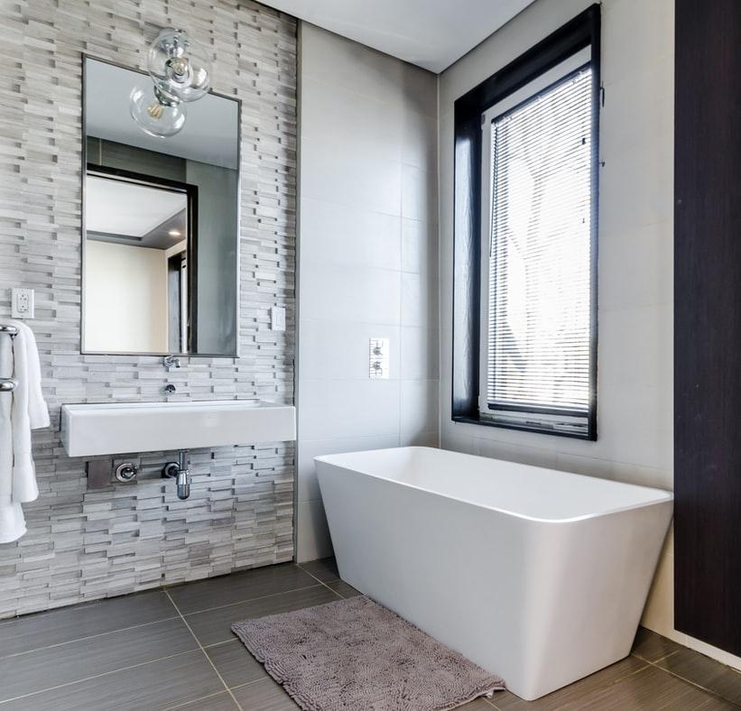 Inspirações de banheiro em preto e branco