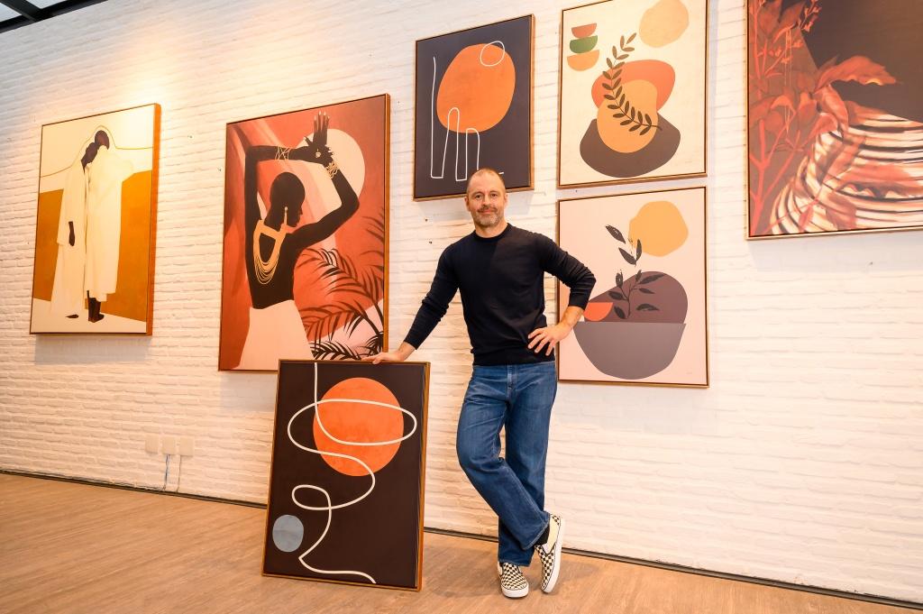 Mauricio Arruda dá dicas de como decorar com quadros