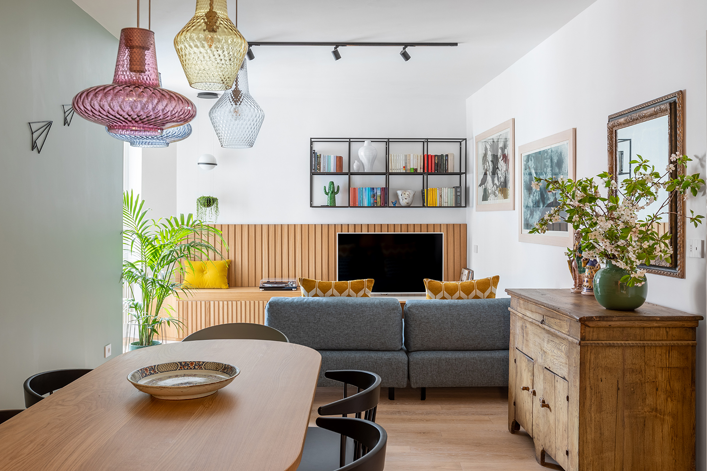 "Cores, ""jardim secreto"" e mix de estilos definem casa de 100m² em Roma"