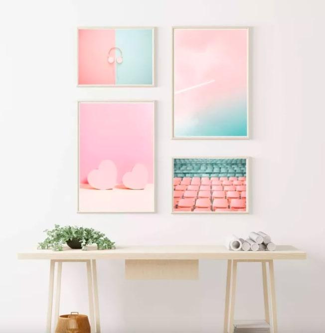 14 21 jeitos de decorar um quarto bem Vision Art NEWS