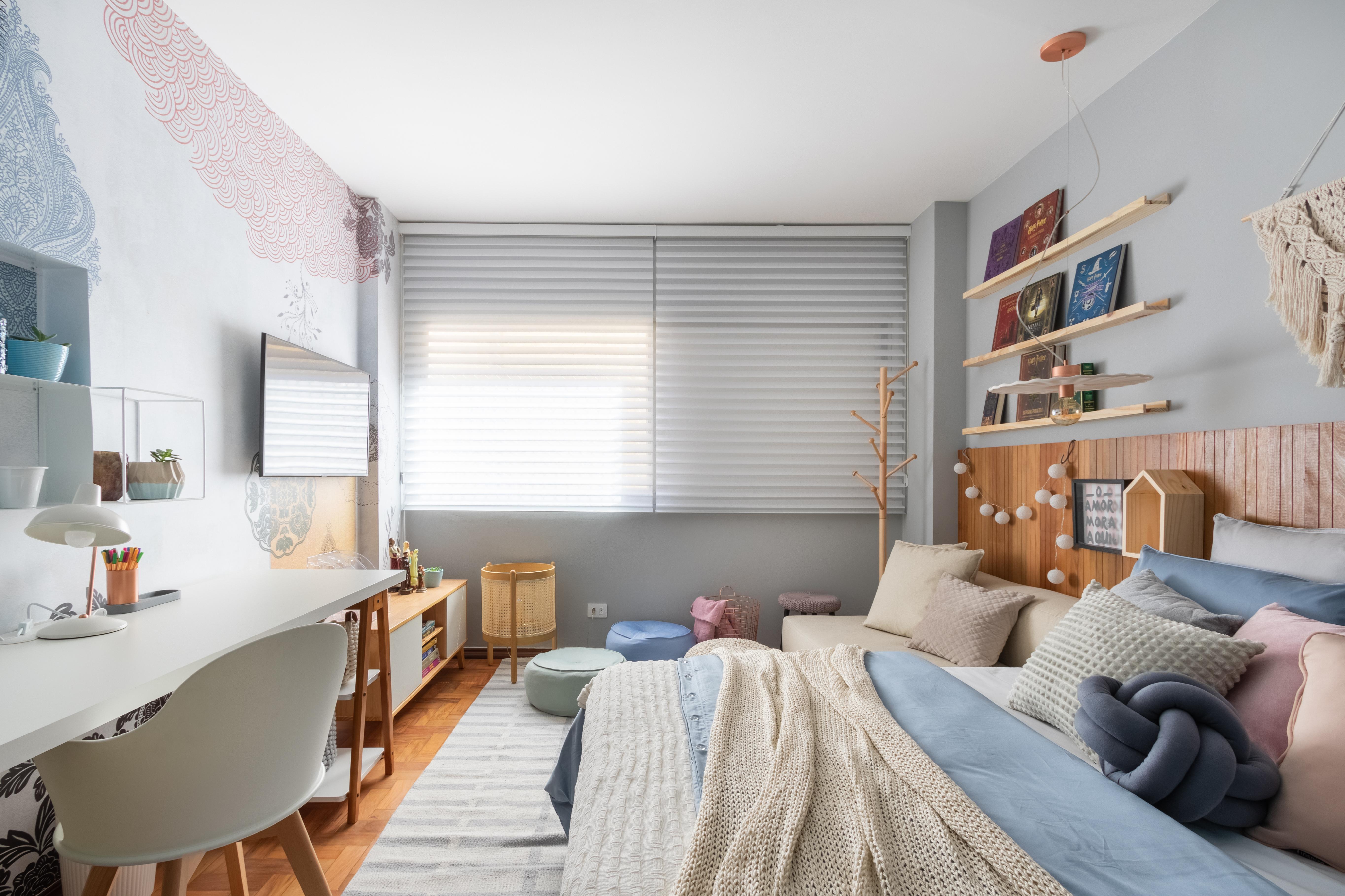 22 21 jeitos de decorar um quarto bem Vision Art NEWS
