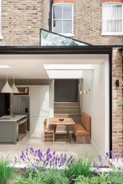 3 cozinha se abre para o jardim nesta casa em Vision Art NEWS
