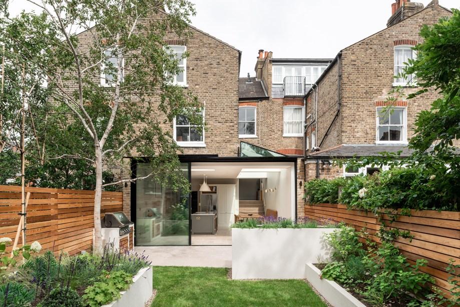 6 cozinha se abre para o jardim nesta casa em Vision Art NEWS