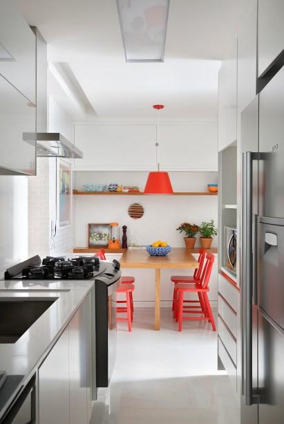 Apartamento assinado pela arquiteta PATRICIA FIUZA fotos Denilson Machado MCA Estudio foto 17 Vision Art NEWS