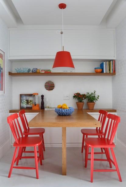 Apartamento assinado pela arquiteta PATRICIA FIUZA fotos Denilson Machado MCA Estudio foto 18 Vision Art NEWS