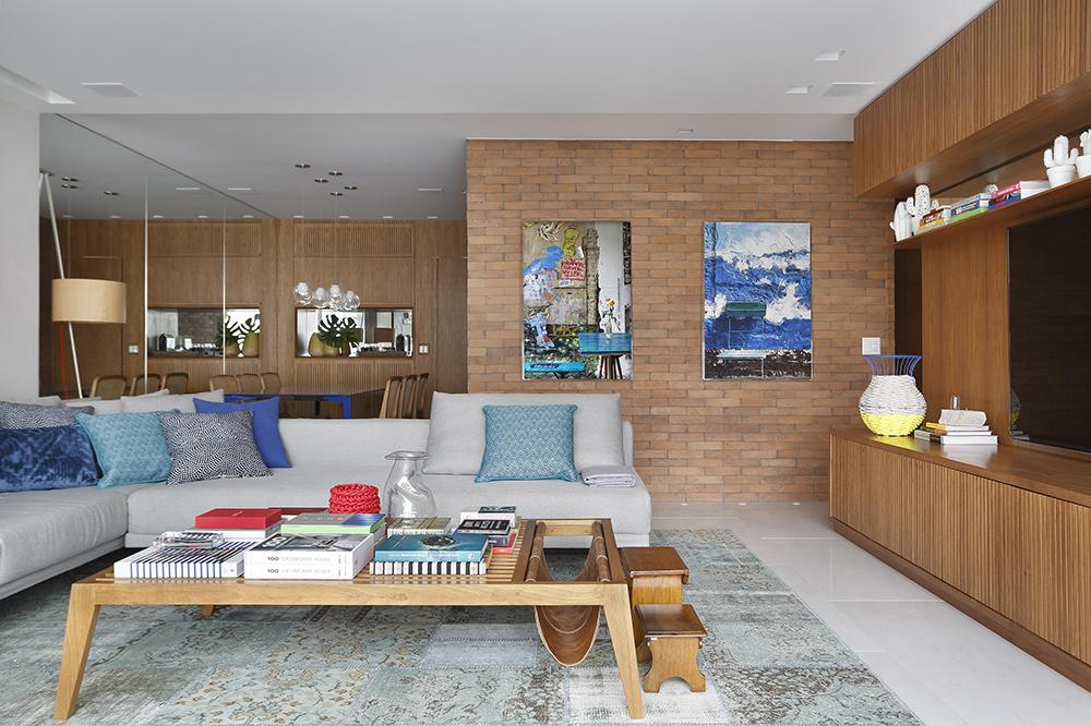 Apartamento assinado pela arquiteta PATRICIA FIUZA fotos Denilson Machado MCA Estudio foto 2 Vision Art NEWS