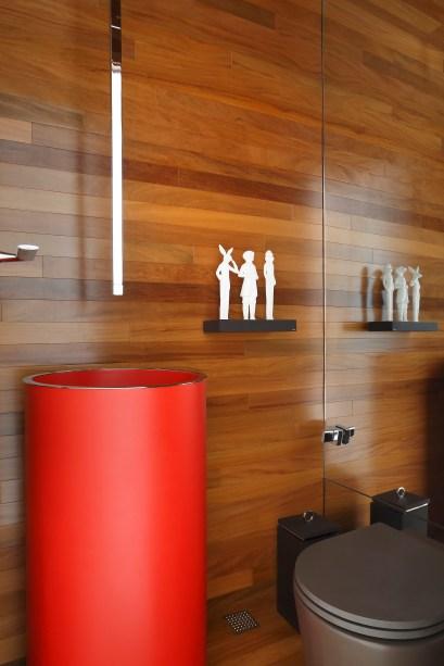Apartamento assinado pela arquiteta PATRICIA FIUZA fotos Denilson Machado MCA Estudio foto 20 Vision Art NEWS