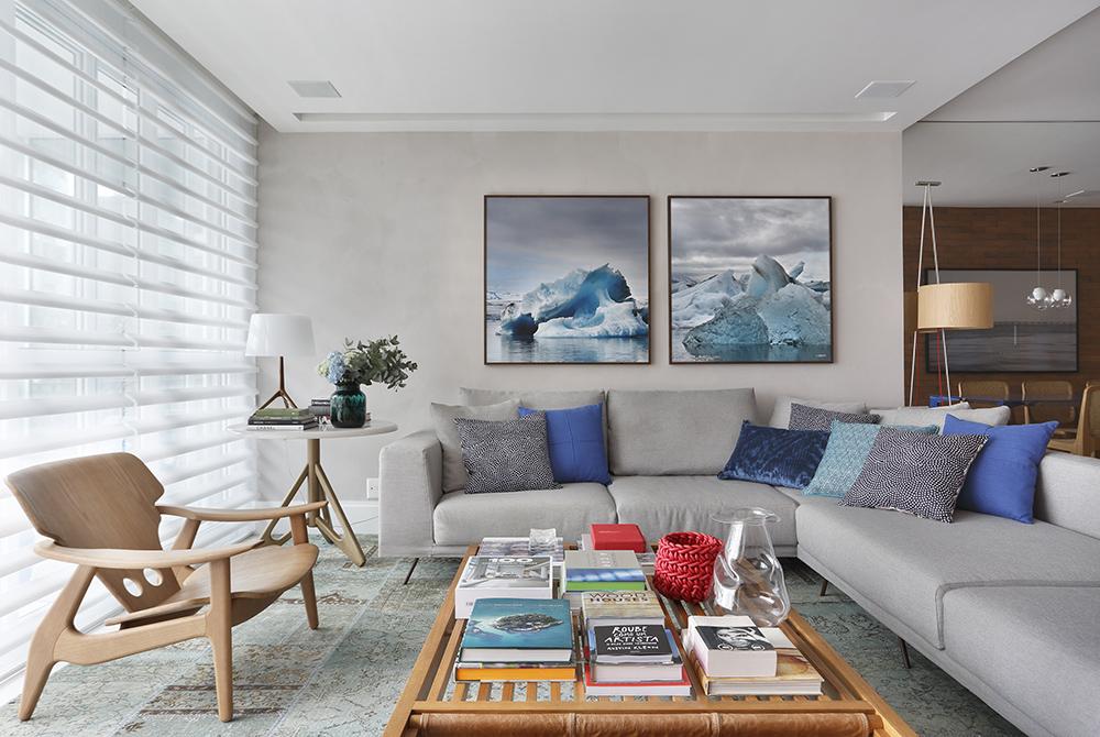 Apartamento assinado pela arquiteta PATRICIA FIUZA fotos Denilson Machado MCA Estudio foto 3 Vision Art NEWS