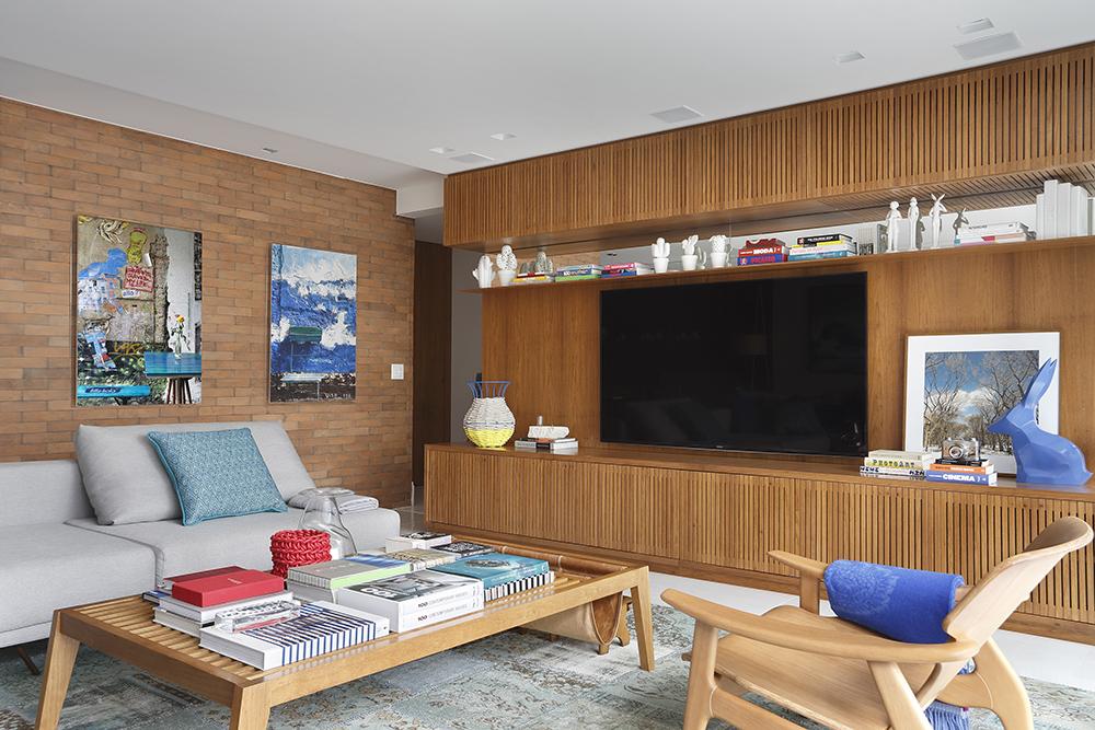 Apartamento assinado pela arquiteta PATRICIA FIUZA fotos Denilson Machado MCA Estudio foto 9 Vision Art NEWS