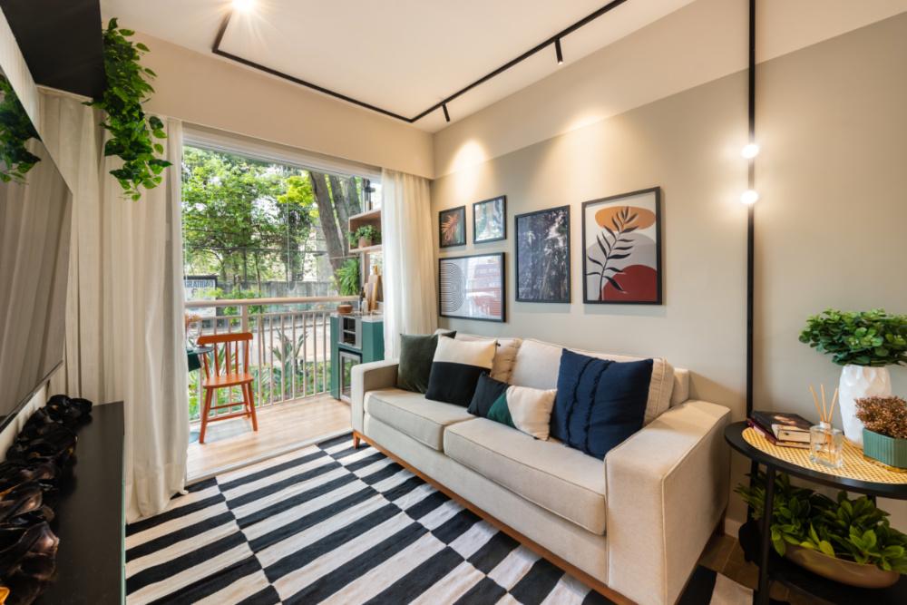 Apartamento de 41m² mistura urbano e natureza 01 1
