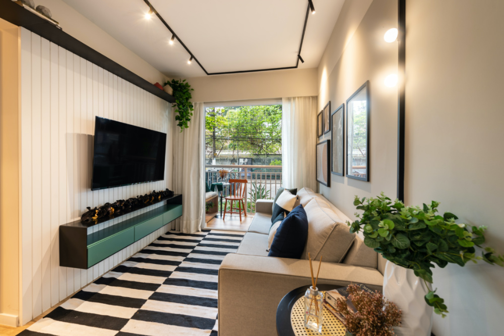 Apartamento de 41m² mistura urbano e natureza 02 1