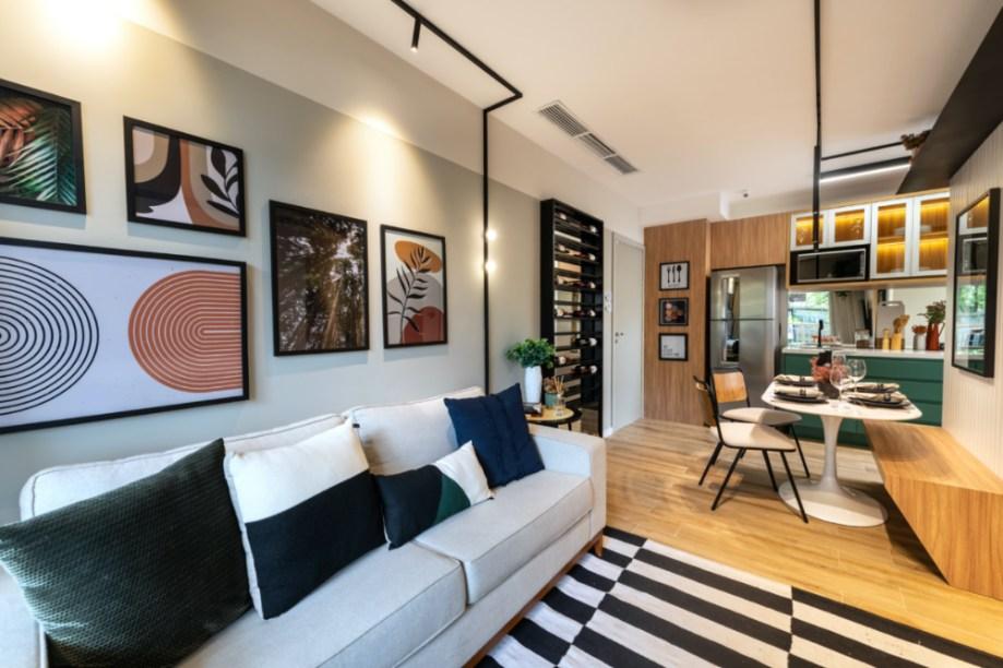 Apartamento de 41m² mistura urbano e natureza 04 2