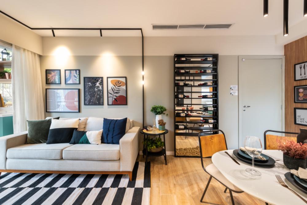 Apartamento de 41m² mistura urbano e natureza 05 1
