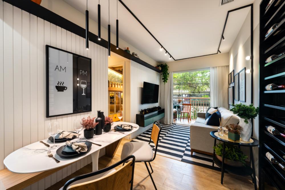 Apartamento de 41m² mistura urbano e natureza 06 1