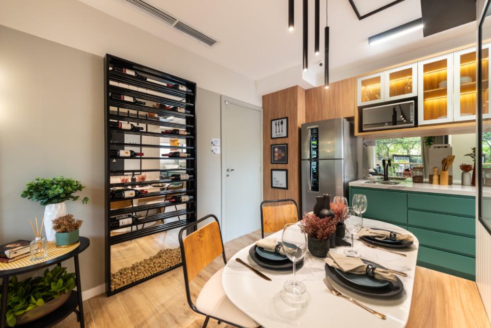 Apartamento de 41m² mistura urbano e natureza 07 2