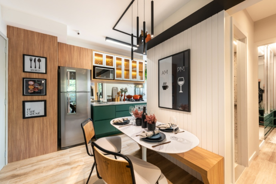 Apartamento de 41m² mistura urbano e natureza 08 1