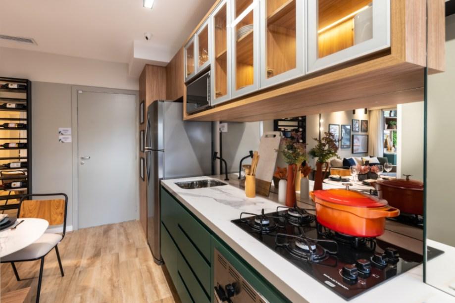 Apartamento de 41m² mistura urbano e natureza 12 1