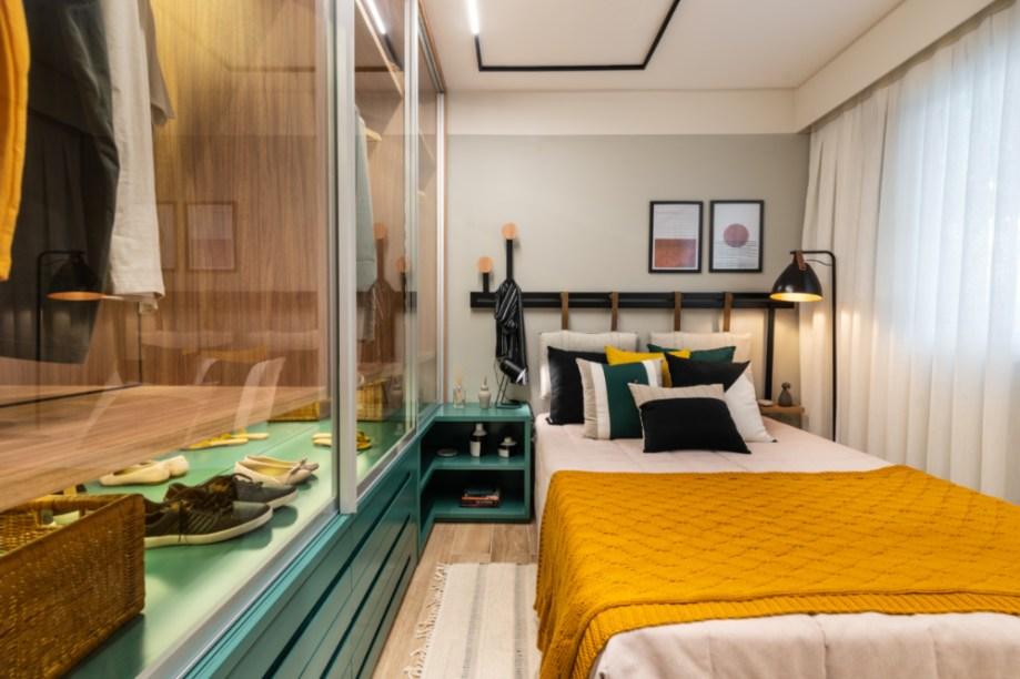 Apartamento de 41m² mistura urbano e natureza 15 1