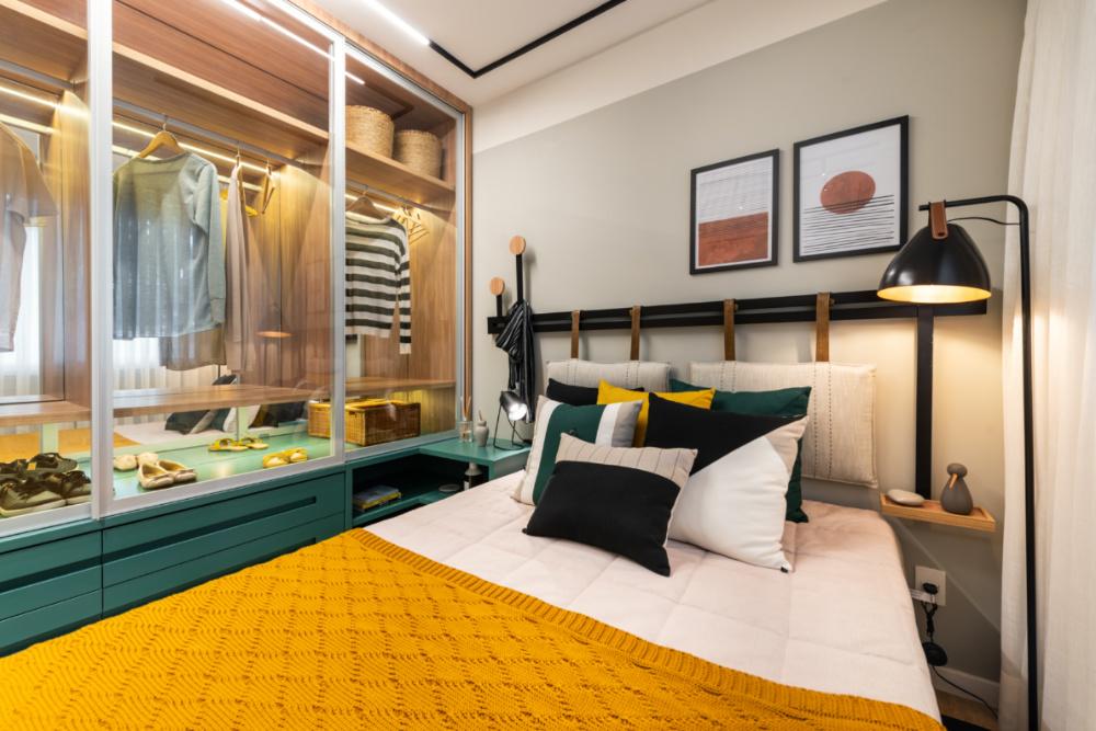 Apartamento de 41m² mistura urbano e natureza 16 1