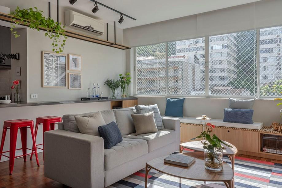 Apartamento em Botafogo assinado pela arquiteta MARINA ROMEIRO foto 1 Vision Art NEWS