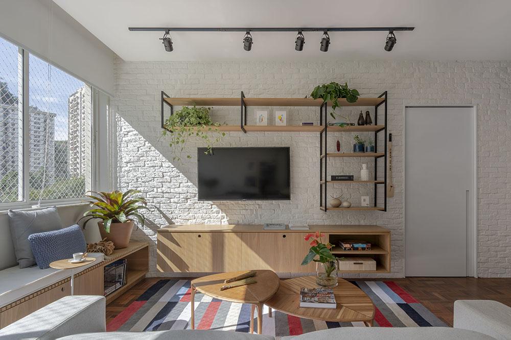 Apartamento em Botafogo assinado pela arquiteta MARINA ROMEIRO foto 3 Vision Art NEWS
