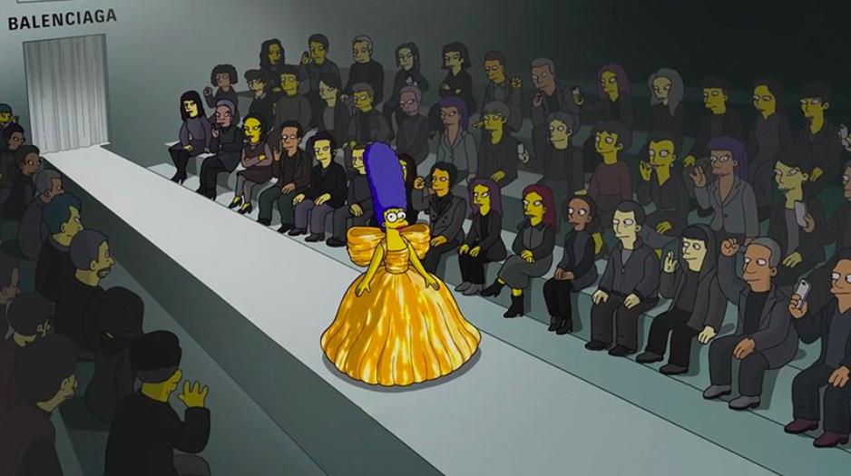Simpsons são modelos da nova coleção da Balenciaga 02 Vision Art NEWS