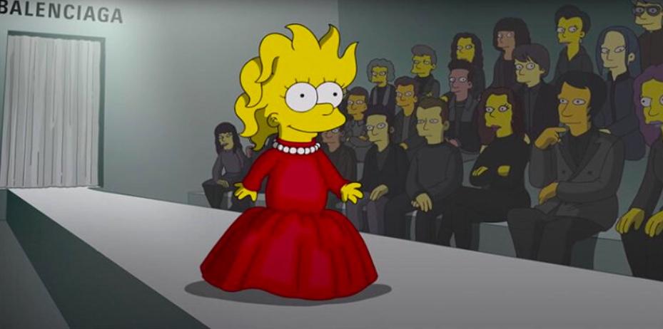 Simpsons são modelos da nova coleção da Balenciaga 03 Vision Art NEWS