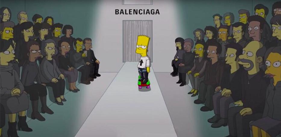 Simpsons são modelos da nova coleção da Balenciaga 05 Vision Art NEWS